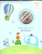 Stepping Stones - Baby Boy's Big Adventure Memory Book C R Gibson - New
