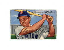 VERN STEPHENS signed 1952 BOWMAN baseball card #9 RED SOX