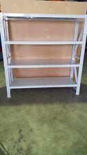 STEEL SHELVING 2 x 2 x 0.6d NOT 0.5. 800Kgs LONG SPAN METAL SHELVES GARAGE SHED