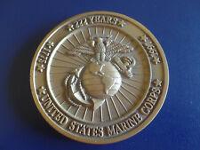 UNITED STATES MARINE CORPS 222 YEARS 1775 1997 OKINAWA JAPAN CHALLENGE COIN