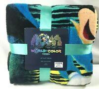 Disneyland California Adventure World of Color Mickey Mouse Blanket Throw Disney