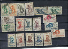 Madagascar stamp serie nº 300 to nº 318 cancelled complete serie of stamps