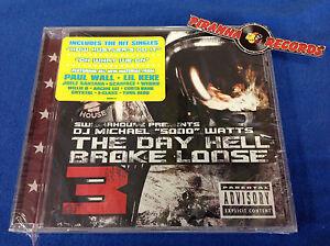 Swishahouse The Day Hell Broke Loose 3 5000 Watts Texas Rap CD Piranha Records