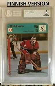 KEN DRYDEN 1979 #48-1145 FINNISH Sportscaster Finland BVG 8 MONTREAL CANADIENS