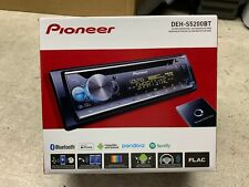 Pioneer DEH-S5200BT Single DIN CD In-Dash Receiver 3 RCA MIXTRAX Bluetooth NEW
