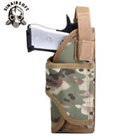 Universal Tactical Airsoft Pistol Handgun Holster Molle Vest Belt Nylon Holsters