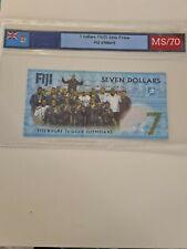 BILLET FIDJI  7 DOLLARS 2016 UNC NEUF