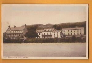 Jersey- St.Brelade's Bay Hotel.  Postcard