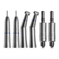 Manipolo Dentale Interno Push Contrangolo Straight Air Motor Handpiece 4Hole Kit