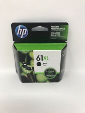 Genuine HP 61XL Black High Yield Original Ink Cartridge (CH563WN) OEM Exp. 2019