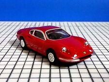 Ferrari Dino 246 GT (1969) Mattel 1:72 Diecast mini Car Lawson Promo Hot Wheels