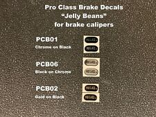 Pro Class Brake Decals (Jelly Beans)- 1 pair, choice of 3 colors
