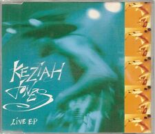MAXI CD 6 TITRES--KEZIAH JONES--LIVE EP - SCREAM - HIDETHEOLOGY...
