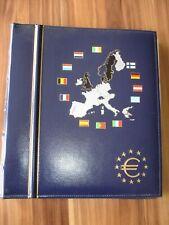 Leuchtturm VISTA Euro-Sammelalbum für 5 Kursmünzensätze aus Deutschland