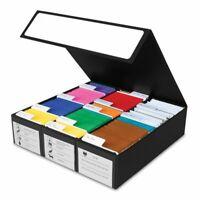 BCW Trading & Game Card Storage Box 3 Row Black / White