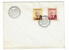 Turkey 1957 Heuss First Day Cover / Light Toning - Z165
