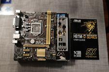 Asus H81M-D Plus Motherboard mATX LGA 1150 Intel Socket