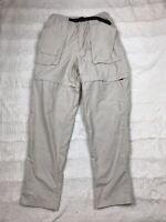 Lands End Womens Convertible Hiking Pants Size Medium 8-10 Zip Off Shorts