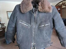 Sz. 48-50 Rare. Russian Soviet Red Army Tanker Winter Jacket USSR