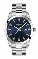 Tissot Gentleman Blue Dial Swiss Quartz Men's Watch T1274101104100