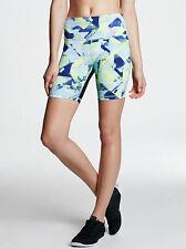 Victoria Secret Sport Ultimate High Rise Knockout Short S EUC VSX Seaglass Blue