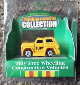 Machines In Miniature Construction Collection DPW Supt. Vehicle Model