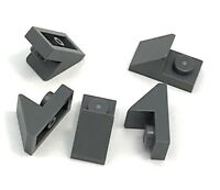 Lego 5 New Dark Bluish Gray Slope 45 2 x 1 with 2/3 Cutout Sloped Pieces