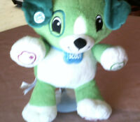 "Plush Dog ""MY PAL SCOUT""  Leap Frog   2009  12""  Interactive  Boy /Girl 18 Mo +"