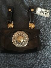 GIANNI VERSACE MEDUSA MENS LEATHER BELT BAG -1993 MIAMI COLLECTION, Rare!
