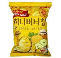 10x 120g Calbee Haitai Bite Size Honey Butter Potato Chip Big Size Korean Snack