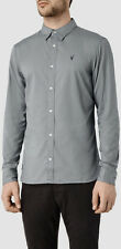 "*NEW ""ALLSAINTS"" MEN'S ""REDONDO"" LS GREY SHIRT SIZE ""2XL"" w TAGS ATTACHED!"