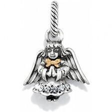 New Brighton Prayer Angel Xmas Holiday Christmas Charm Bead Retired ! Rare!