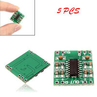 NEW 5 pcs  PAM8403 2X3W Class D Board Mini Audio Amplifier HOT Input 2.5-5V