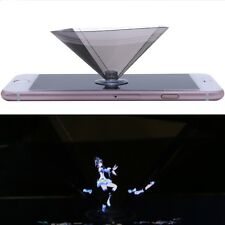 3D Holographic Projector Pyramid Display With Sucker For Smartphone 3.5-6Inch