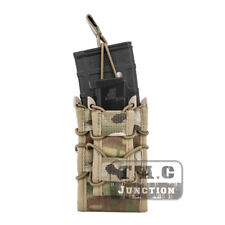 Emerson Double Decker Modular 5.56 223 & Pistol Magazine Pouch MOLLE Mag Carrier