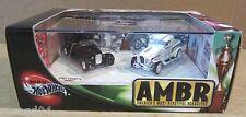 """AMBR 2-Car Set Chip Foose """"0032"""" & George Barris """"Ala Kart"""" Roasters Vehicle NEW"""