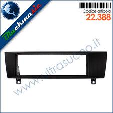 Mascherina supporto autoradio ISO Bmw serie 1 (E81 dal 2007) colore nero