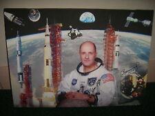 Leonov Stafford  hand signed framed canvas  UACC AFTAL