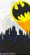 BATMAN Super Hero PAPER TABLE COVER ~ Birthday Party Supplies Decorations Cloth