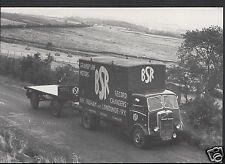Transport Postcard - AEC Mandator Flatbed - BSR Gramphone Co   A7849