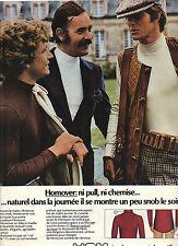 PUBLICITE  1974   HOM   sous vetements homme  HOMOVER