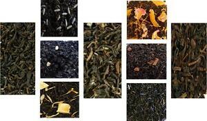 Black Tea or Oolong teas- iced or hot - choose flavor, qty, loose leaf, teabags