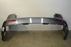 Mitsubishi Lancer Evo X Rear Bumper Cover Panel Grey Evolution 10 Oem 2008-2015