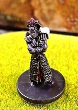 Drow Spider Priestess D&D Miniature Dungeons Dragons cleric pathfinder elf rage