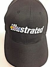 NASCAR Illustrated Hat Cap Black Adjustable Embroidered Unworn