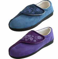 Patternless Wide (E) Unbranded Slippers for Women
