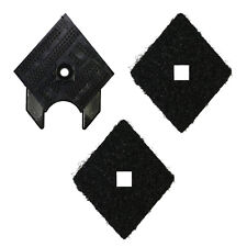 Black & Decker 2 Pads + Replacement Base Plate Tip Carrier Mouse KA161 KA161BC