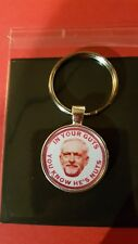 JEREMY C   LABOUR PARTY ! IN YOUR GUTS YOU KNOW HES NUTS QUALITY METAL KEY RING