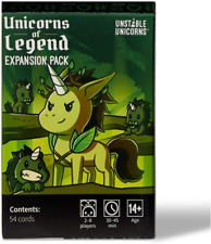 Unstable Unicorns Unicorns of Legend Expansion Pack - designed to be added to yo