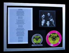 THE DAMNED Don't Cry Wolf PUNK CD TOP QUALITY FRAMED DISPLAY+EXPRESS GLOBAL SHIP